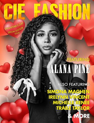 CIE Fashion Magazine Featuring Alana Pine W/ Designer Simona Maghen