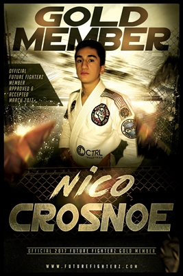 Nico Crosnoe Gold Member/Diploma Poster