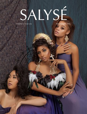SALYSÉ Magazine | Vol 1:No 3/4 | March/April 2015 | Purple Reign Cover |