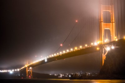 Golden Gate and the Fog