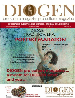 DIOGEN pro art magazin No 8. special POETRY MARATHON March 2011
