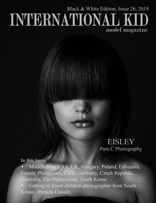 International Kid Model Magazine Issue #26 Black & White Edition