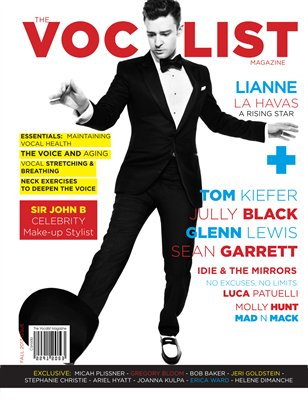 THE VOCALIST MAGAZINE (FALL 2013 ISSUE)