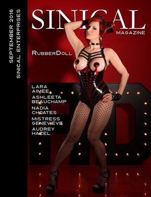 Sinical September 2016 - RubberDoll cover edition