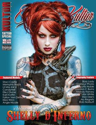 Kultur Magazine TATTOO Special - TATTOO Kultur VOL 11.2