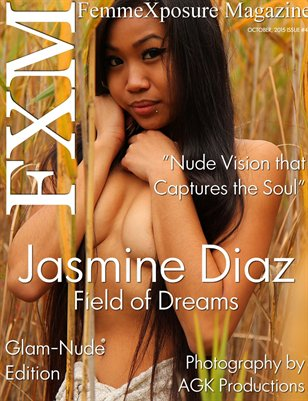 FemmeXposure® Magazine October, 2015 Issue #41 Cover Model, Jasmine Diaz