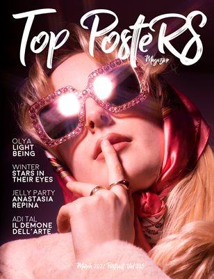 TOP POSTERS MAGAZINE - MARCH PORTRAIT(Vol 235)