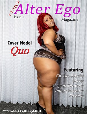 Curvz Alter Ego Magazine Issue 1