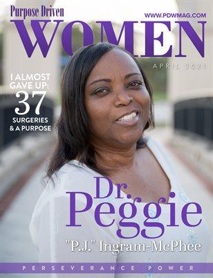 """Purpose Driven Women Magazine featuring Dr. Peggie """"PJ"""" Ingram McPhee"""
