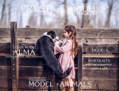 PRESTIGE MODELS MAGAZINE_Models +Animals 12/12