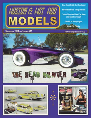 Kustom and Hot Rod Models #17 - Summer 2014