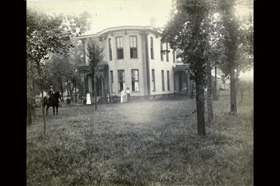 Farthing Home, Cuba Rd. Graves County, KY, bef. 1887