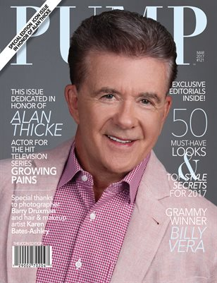 PUMP Magazine Featuring Grammy Winner Billy Vera and Honoring Actor Alan Thicke