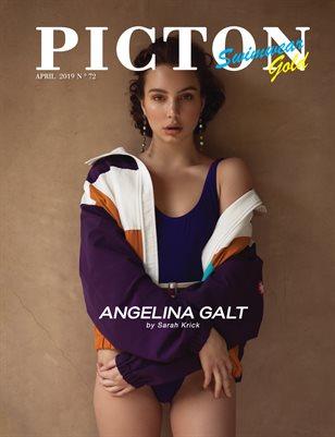 Picton Magazine APRIL 2019 Swimwear Gold N72 Cover 1