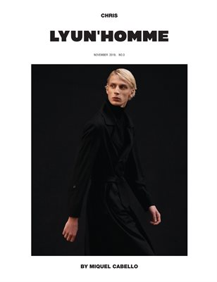 LYUN HOMME ISSUE No.3 (VOL No.1) C2