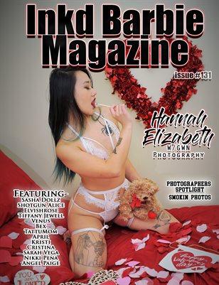 Inkd Barbie Magazine Issue #131- Hannah Elizabeth