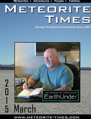 Meteorite Times Magazine - March 2015 Issue
