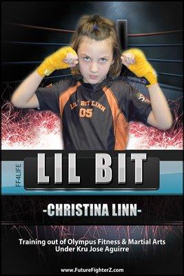 Christina Linn Muay Thai 2015 Poster
