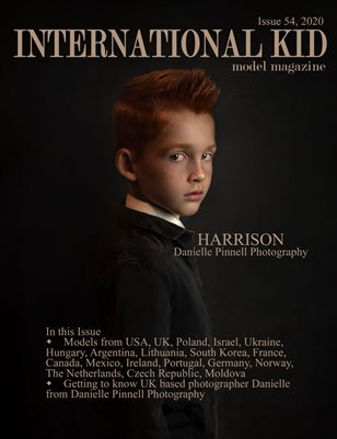 International Kid Model Magazine Issue #54