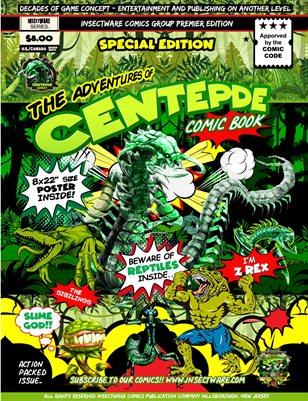 Centepde Comics