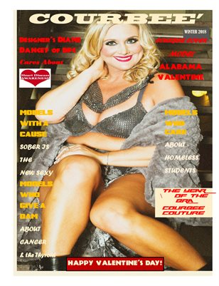 Courbee' Magazine, The Heart Issue, Winter 2018