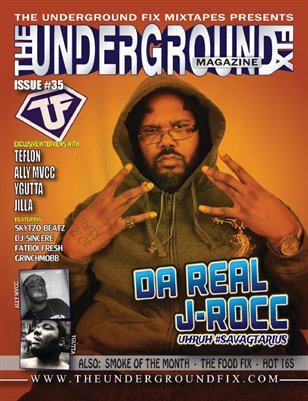 The Underground Fix Magazine Issue #35