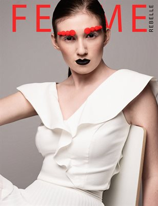 Femme Rebelle Magazine June 2019 BOOK 1 - Alison McMath Cover