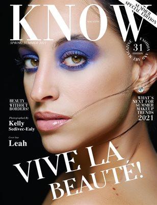 KNOW Magazine_VIVE LA BEAUTÉ