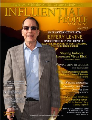 Influential People Magazine June 2020