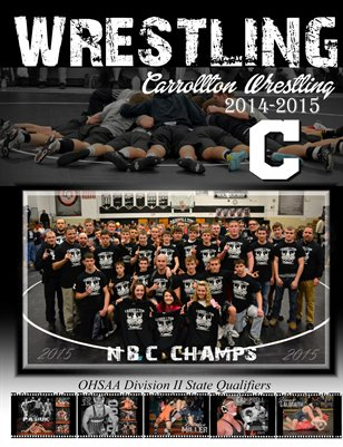 CHS Wrestling Team Magazine
