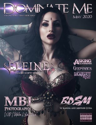 Dominate Me Magazine May Music Issue Cover 2