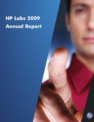 HP Labs 2009 Annual Report