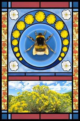 Bee Poster (Protect Pollinators)