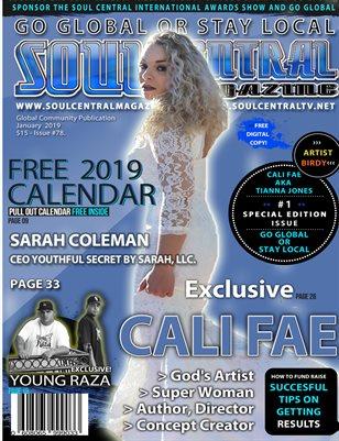 Soul Central Magazine Edition 78 Cali Fae