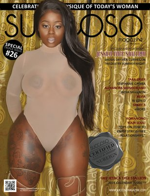 Succoso Magazine Triple Issue #26 featuring Cover Model Jessica Thee Stallion