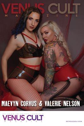 Venus Cult No.44 – Maevyn Corvus & Valerie Nelson Cover Poster