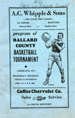 1941 Ballard County Basketball Program, Ballard County, Kentucky