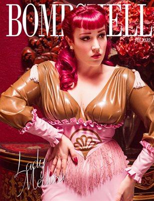 BOMBSHELL Magazine February 2020 BOOK 2 - Lady Medusa Cover