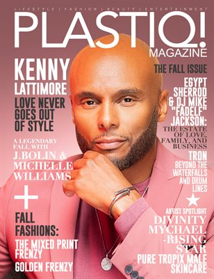 Plastiq! Magazine featuring Kenny Lattimore