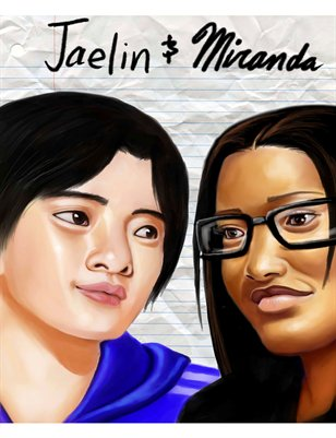 Jaelin and Miranda (redrawn)