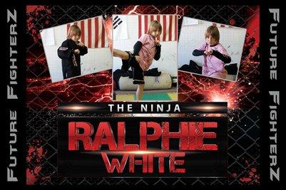 Ralphie White Poster 2015