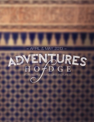 April-May Adventures Of Hodge