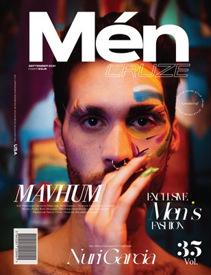 SEPTEMBER 2021 Issue (Vol: 35) | MEN CRUZE Magazine
