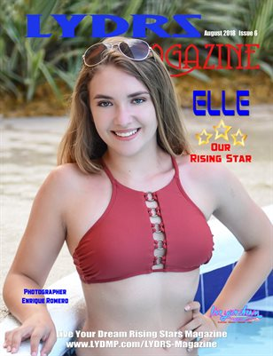 LYDRS MAGAZINE - Rising Star Model Elle - August 2018
