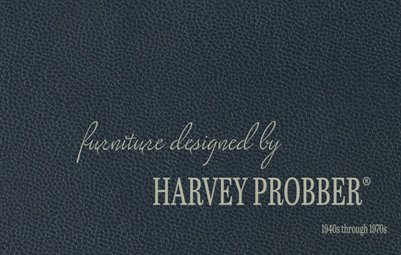 Harvey Probber Vintage Brochure