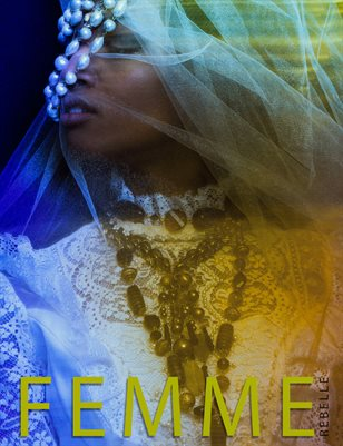 Femme Rebelle Magazine NOVEMBER 2017 Book 3 - Naomi Loghry Cover