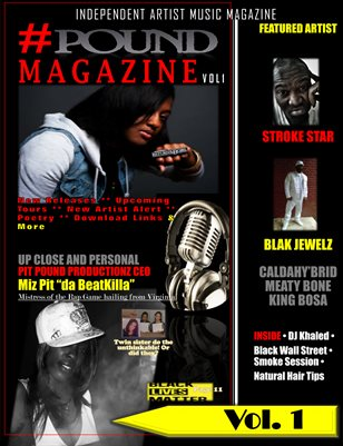 #POUND Magazine Vol 1
