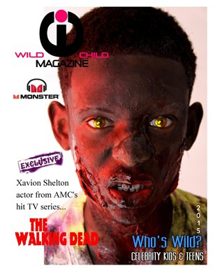 Wild Child Magazine August 2015/ The Walking Dead Exclusive