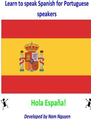 Learn to Speak Spanish for Portuguese Speakers