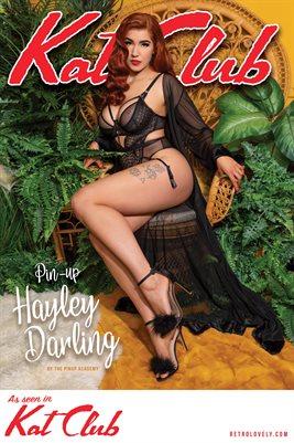 Kat Club No.25 – Pin-up Hayley Darling Cover Poster